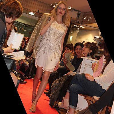 défilé de mode octpbre 2016 à la boutique Indigo à Tonneins